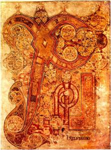 Carpet Page from the Book of Kells