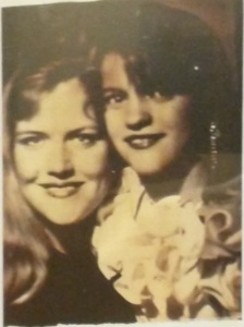 Mom and me, circa 1991, when my mom first started exhibiting signs of her mental illness.